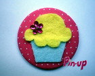 BOTTON CUPCAKE - 5,5CM