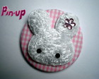 BOTTON &quot;RABBIT&quot; - 5,5CM