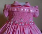 Lindo vestido rosa matizado