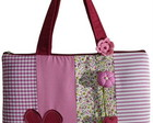 Bolsa para notebook em patchwork