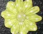 TT45 - TIC TAC FLOR &quot;KANZASHI&quot; EM TECIDO