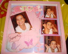 Quadro Scrapbooking - Angel
