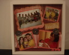 Quadro Scrapbooking - Famlia