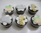 Mini cupcake bichos da floresta