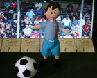 Jogador de futebol mini