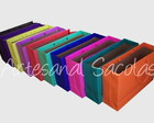 Sacola colorida 35x23x10-pct c/ 10 unid