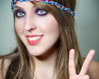 Headband Hippie colors