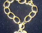 Pulseira dourada