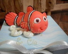 Lembrancinha caixa Nemo