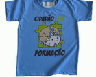 Camiseta Infantil malha PET Cidado AZ