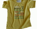 Camiseta Infantil malha PET Minha Camisa