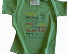 Camiseta malha PET Minha Camisa