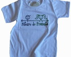 Camiseta Infantil malha PET Futuro BR