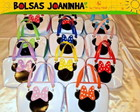 BOLSAS MINNIE - TODAS AS CORES