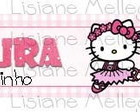 R�tulo Papinha Nestle Hello kitty