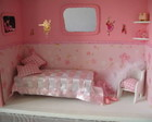 mini quarto rosa bailarina