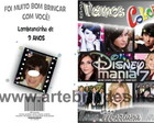 Lembran�a Revista Colorir Disney Mania