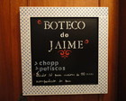 PLACA BOTECO