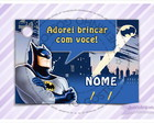 Cart�o - Tag Anivers�rio Batman
