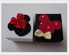 CAIXINHA DECORADA - MICKEY E MINNIE