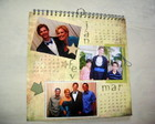 calendrio scrap com wire-o