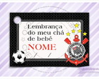 Cart�o - Tag Ch� de Beb� do Corinthians