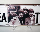 PLACA DE CARRO DECORATIVA - BEATLES