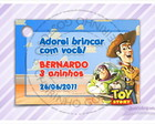 Cart�o - Tag Anivers�rio do Toy Story