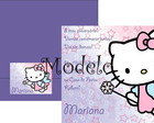 Convite Hello Kitty Fada lil�s