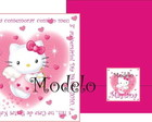 Convite Hello Kitty