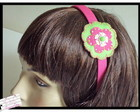 Tiara Pink e Verde