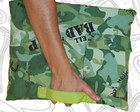 Case para notebook camuflado