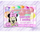 Cart�o - Tag Anivers�rio Baby Minnie