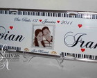 PLACA DE CARRO CASAMENTO