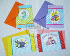 Kit cart�ozinho P�scoa + envelope