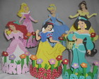 Centros de mesa das Princesas Disney