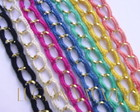 PL005 Pulseira Croch - Corrente Dourada