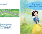 Branca de Neve - Convite Livro
