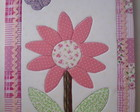 Caderno patchwork embutido