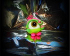 "Chaveiro ""Big Eye Fefe """