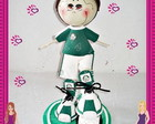 Boneco Fofucho do Palmeiras em EVA 3D