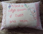 Almofada dia das mes ou do se amor!
