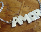 Pulseira AMOR em prata 950