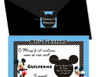 Convites do Mickey! Cod. M015