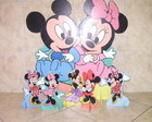 MICKEY E AS MINNIES EM MDF