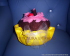 Almofadinha Cupcake 3D