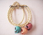 Pulseiras de caveiras
