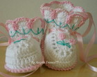 Booties Baby Tulips!!!LAN�AMENTO!!