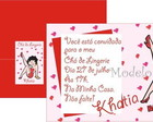 Convite Ch de Lingerie Betty Boop