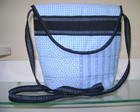 Bolsa Patchwork Tranversal